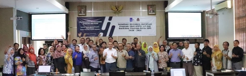 Peserta Workshop Sosialisasi Akreditasi IAPS 4.0 program kerja ASPI 2020-2021. Kampus ITS Surabaya, 29-30 Januari 2020